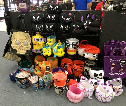 After Hurricane Harvey, many families are looking forward to the normal tradition of trick-or-treating this Halloween. Sales in Halloween tote bags and buckets have gone up from previous years.