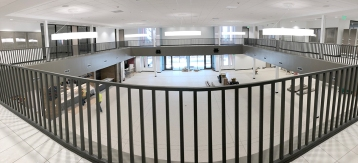 The food court featuring Jason's Deli, Panda Express and Chick-fil-a is a new addition to the renovated Setzer Center.